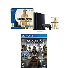 PS4 500GB Uncharted Collection Bundle + Assassin's Creed Syndicate