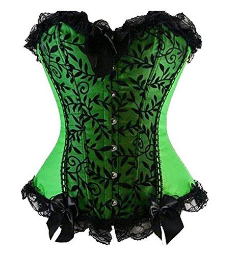 plus green dress in burlesque