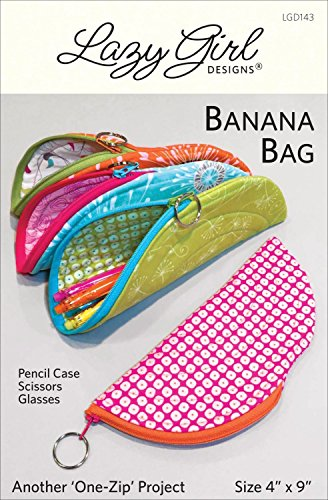 (Banana Bag Zippered Pouch Sewing Pattern)
