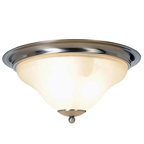 Amazon.com: Monument 617249 Sanibel – Flush Mount plafón ...