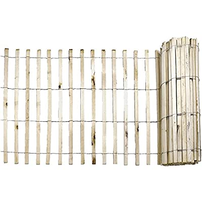 Everbilt 1/2 in. x 4 ft. x 50 ft. Natural Wood Snow Fence