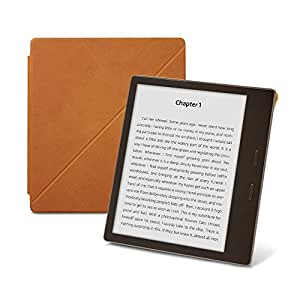 Amazon Kindle Oasis Premium Leather Standing Cover (9th Generation – 2017 release), Saddle Tan