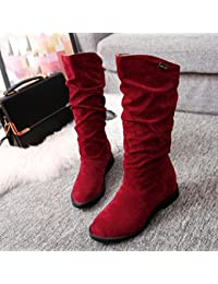 Winter Boots Womens, Women Teen Flat Boots Shoes Platform...