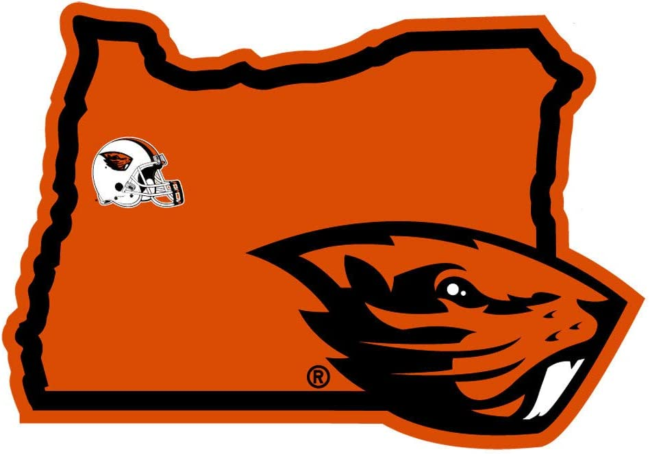 NCAA Siskiyou Sports Fan Shop Oregon State Beavers Home State Decal One Size Team Color