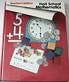 TE Holt Sch Math Gr 1 B 78, Nichols, 0030185963
