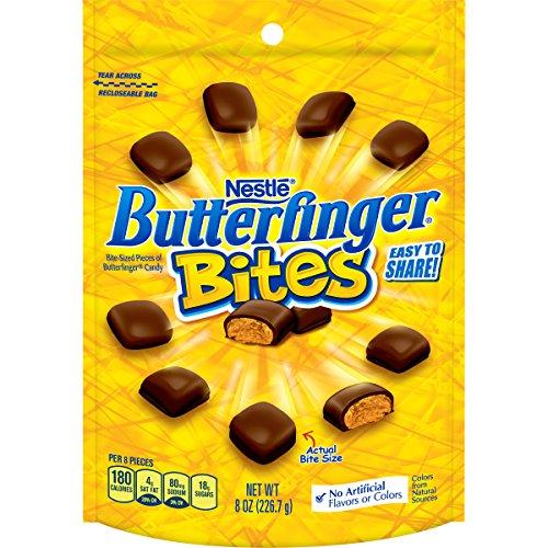 Butterfinger Bites Standup Bag, 8 Ounce (Bite Desserts Sized)