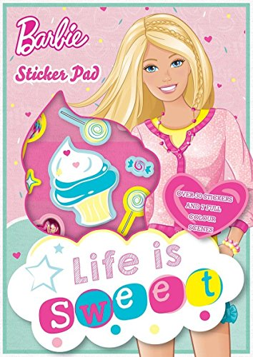 Anker Barbie Sticker Pad with Reusable Stickers