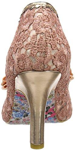 Irregular Choice Mal E Bow, Zapatos de Tacón mujer Rosa (Pink/Gold)