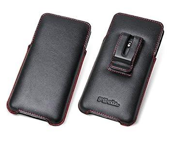 38ae8af19e PDAIR ラグジュアリーレザーケース for iPhone 8 Plus/iPhone 7 Plus ベルトクリップ付バーティカルポーチ