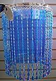 Shimmer Chandelier Raindrops Azure Blue Anywhere Lighting