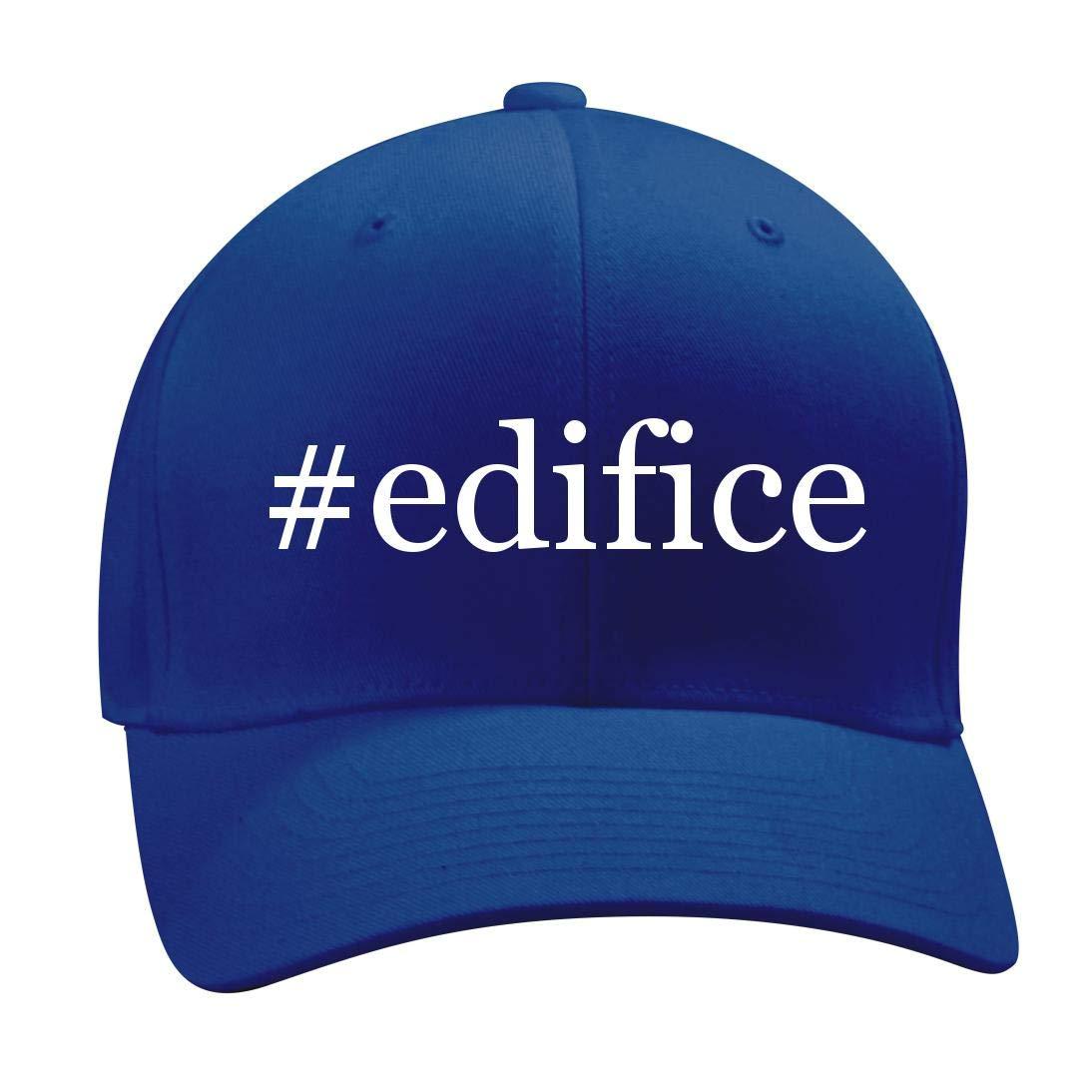 #Edifice - A Nice Hashtag Men's Adult Baseball Hat Cap, Blue, Small/Medium by Shirt Me Up