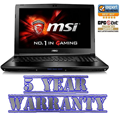 New MSI Gaming Intel i5 Turbo Laptop, 2 Graphics Cards inc Dedicated 2GB Geforce, 8GB Ram, 1TB HDD, Windows 10, inc 5 Year Warranty: Amazon.es: Electrónica