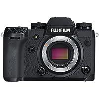 Fujifilm X-H1 24.3MP 4K Ultra HD Digital SLR Camera Body + Vertical Power Booster Grip