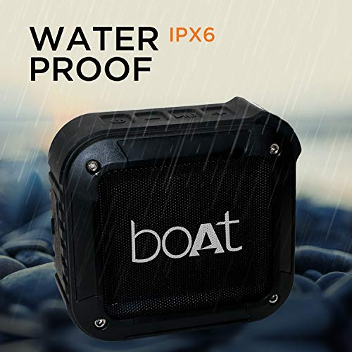 The waterproof Bluetooth speaker.