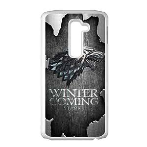 Winter Coming Stark White LG G2 case