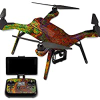 MightySkins Protective Vinyl Skin Decal for 3DR Solo Drone Quadcopter wrap cover sticker skins Rust