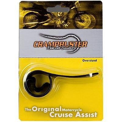 Crampbuster CB3 Black Throttle Mounted Motorcycle Cruise Assist: Automotive