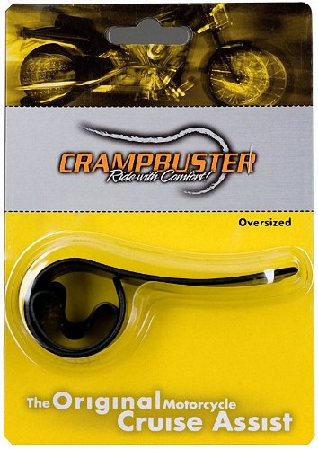 - Crampbuster CB3 Black Throttle Mounted Motorcycle Cruise Assist