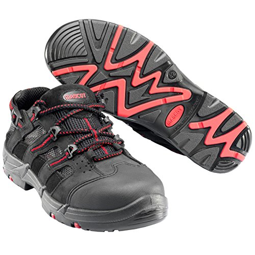 Red Shoe 0902 El Safety Mascot Black W8 Misti F0018 909 37 837 wPECgq