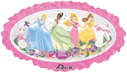 Disney Princess Oval Shaped Foil Balloon