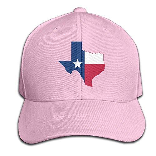 Texas Rat Snake (Texas States Flag Snapback Sandwich Cap Pink Baseball Cap Hats Adjustable Peaked Trucker Cap)