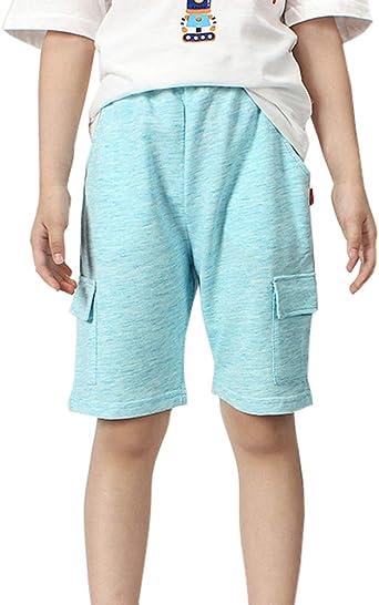 Nino Pantalon Corto Verano Pantalon De Chandal Multibolsillo Cargo Bermudas Shorts Amazon Es Ropa Y Accesorios