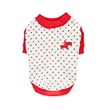 Puppia Authentic Pax Shirt, X-Large, Red