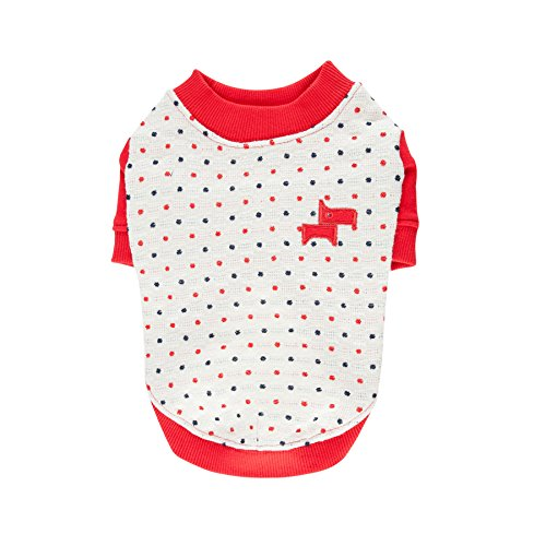 Puppia Authentic Pax Shirt, X-Large, Red by Puppia