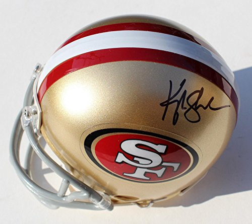 Kyle Shanahan Signed San Francisco 49Ers Mini Helmet W Coa   Autographed Nfl Mini Helmets
