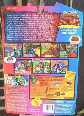 Amazon.com: The Savage Dragon Teenage Mutant Ninja Turtles ...