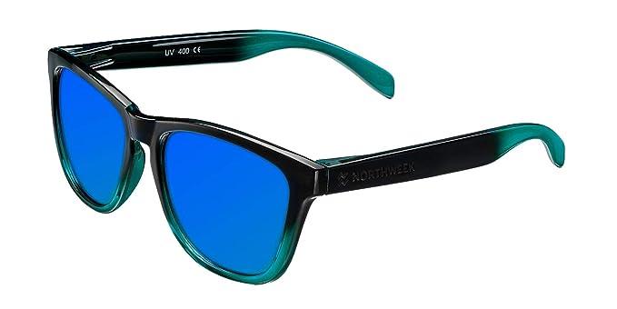 Northweek Gradiant Amare - Gafas de Sol para Hombre y Mujer, Polarizadas, Azul