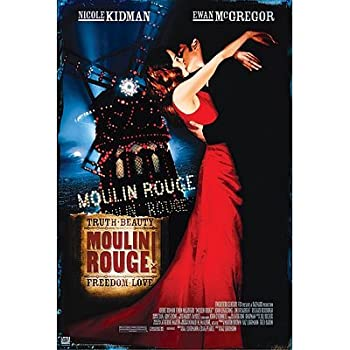MOULIN ROUGE MOVIE NEW 24X36 POSTER COLLECTOR PRINT