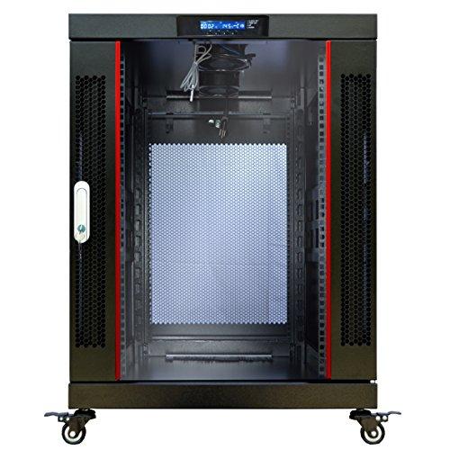 18U Server Rack Cabinet Enclosure Premium Series Sysracks 24