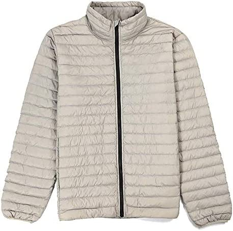 MEATFLY. Men`s Lightweight Quilted Stand Collar Packable Water-Resistant Zip Down Puffer Jacket / MEATFLY. Men`s Lightweight Quilted Stand Collar Packable Water-Resistant Zip Down Puffer Jacket