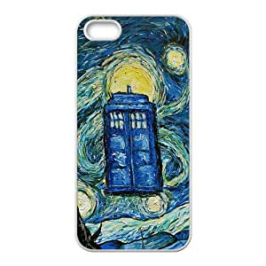 Doctor Who Pattern New Style HOT SALE Comstom Protective case cover For iPhone 5S
