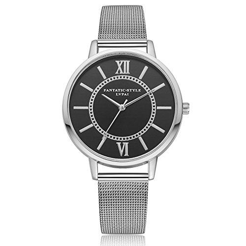 Delaman Reloj Cuarzo - Lvpai Reloj Pulsera Mujer, Caja Dial ...