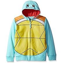 Pokemon Boys' SQUIRTLE COSTUME HOODIE