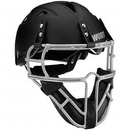 Batting Helmets & Face Guards Baseball & Softball Worth Legit Pitchers Helmet