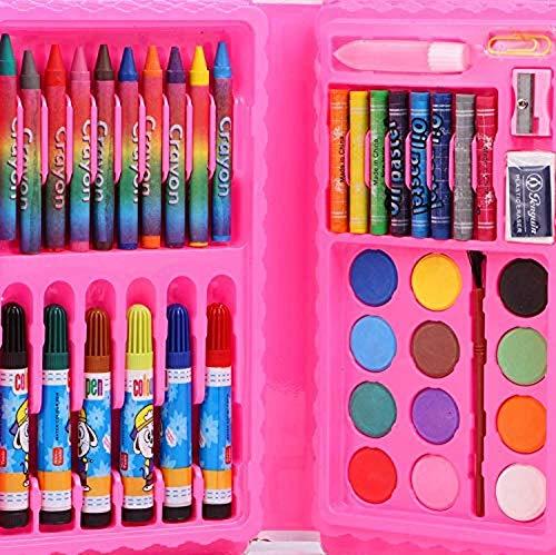 Funspot 42 Pcs Color Set;Crayons;Oil Pastel;Sketch Pen Set , Water Colours