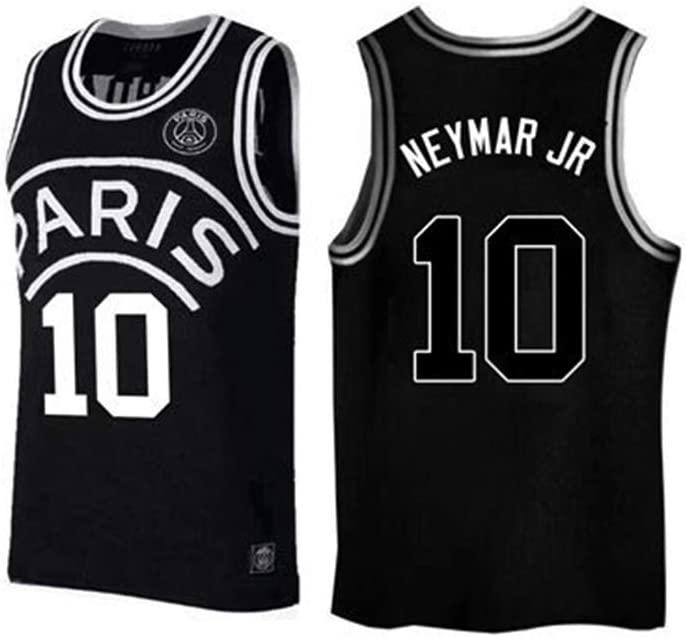 Baloncesto NBA Jersey Chaleco Alero Jersey Gran Paris Michael Jordan # 23 Neymar da Silva Santos J/únior # 10 7 Kylian Mbapp/é