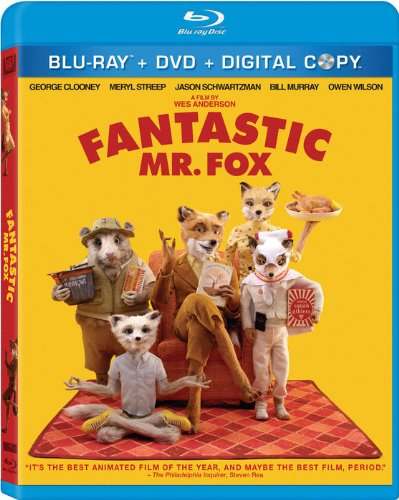 Amazon Com Fantastic Mr Fox Three Disc Blu Ray Dvd Combo George Clooney Meryl Streep Wallace Wolodarsky Jason Schwartzman Eric Chase Anderson Bill Murray Willem Dafoe Michael Gambon Brian Cox Owen Wilson Helen Mccrory Jarvis Cocker