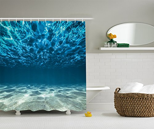Ambesonne Collection Gravelly Underwater Polyester product image