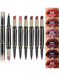 6 Colors Lip Liner Pencil Lasting Waterproof Lip Liner Lipstick Pencil