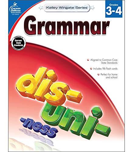 Carson-Dellosa Kelley Wingate Series Common Core Edition Grammar Workbook, Grades 3 - 4 (Ages 8 - 10) from Carson-Dellosa