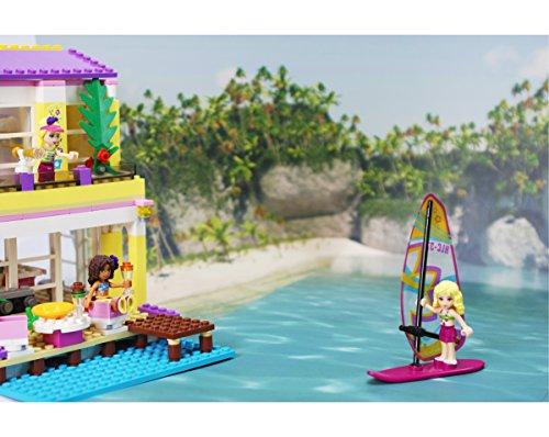 Single Beach Island Foldable Background Scenery For Toys Like Lego