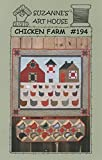 Chicken Farm Quilt Pattern by Suzanne's Art House #194 - 38'' x 34''