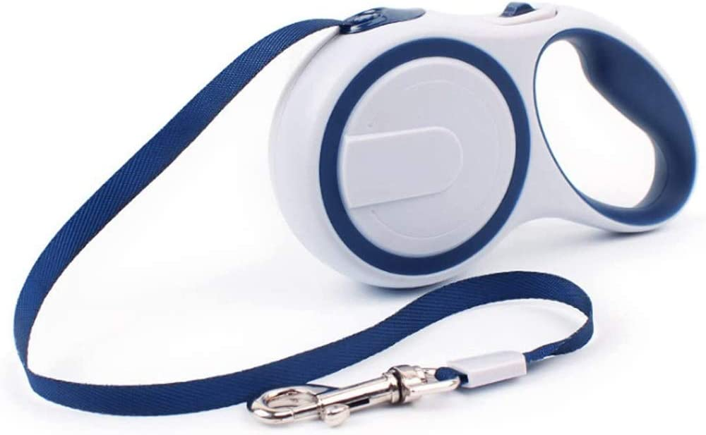 Medium and Large Dogs up to 30KG Roll Leashes for Dogs Strap for Small CRXL shop-Electric Blankets Roll Leash Retractable Retractable Dog Leash 3 // 5M Leash Color : Blue, Size : 3m