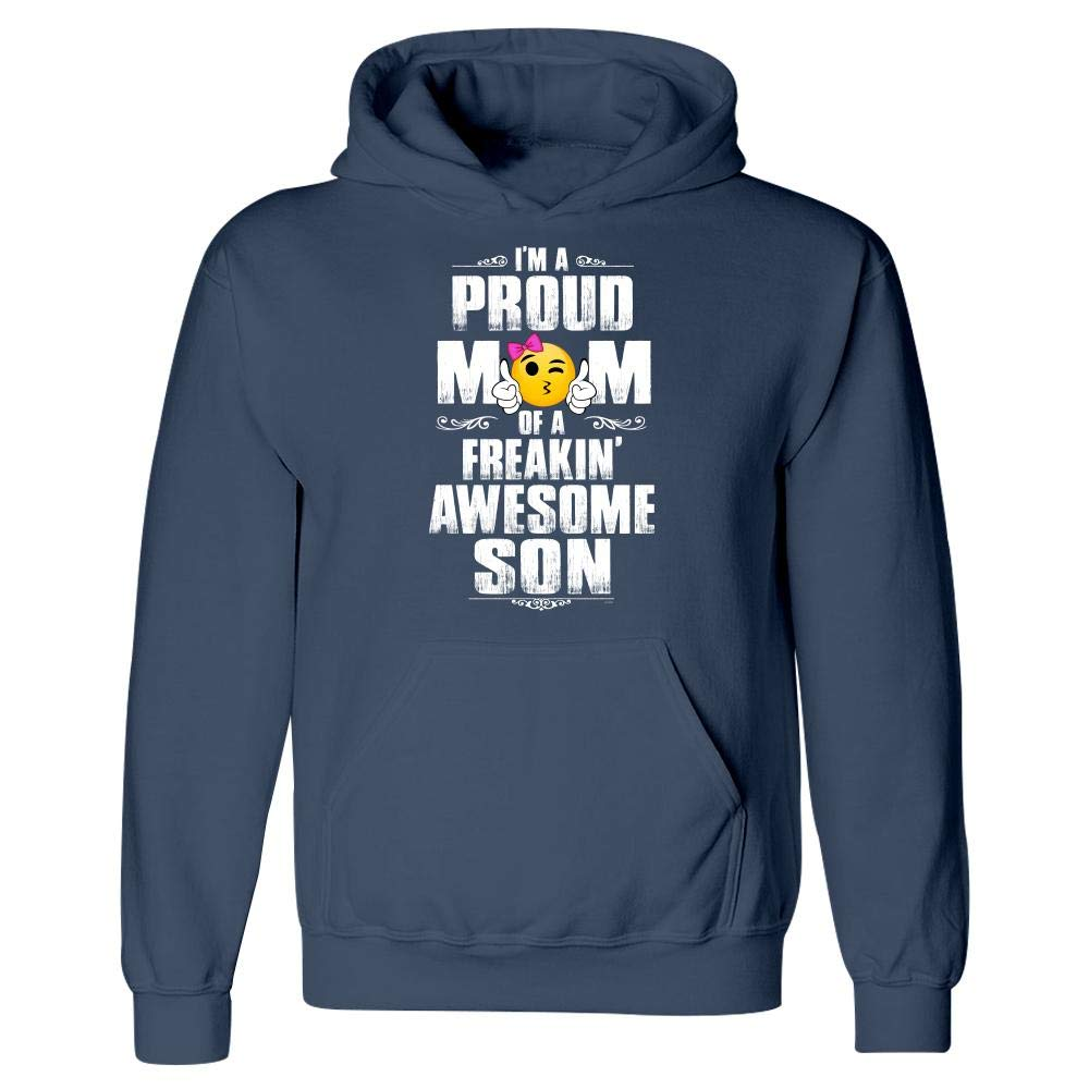 Hoodie Proud Mom of a Freakin Awesome Son Gift for Mothers Day