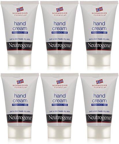 Neutrogena Unscented Norwegian Formula Hand Cream, 2 Ounces each Value Pack of 6