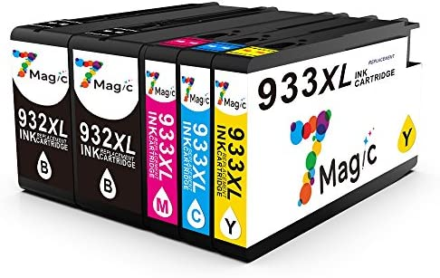 7Magic Compatible para HP 932XL 933XL Cartuchos de Tinta con ...